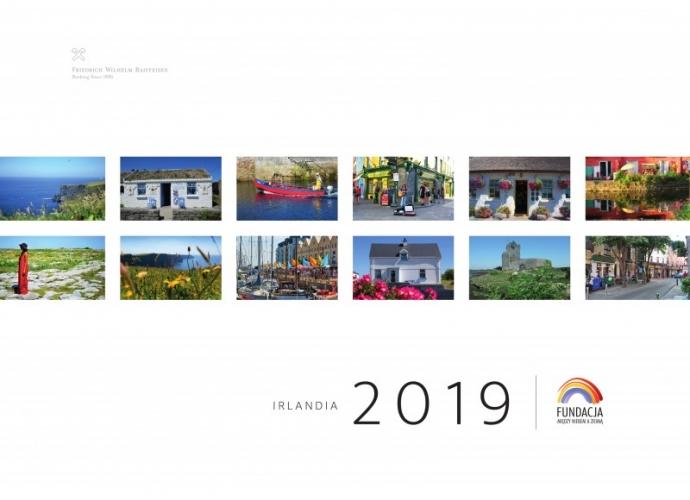 Fundacja Między Niebem a Ziemią - aktualność KALENDARZ CHARYTATYWNY – IRLANDIA 2019