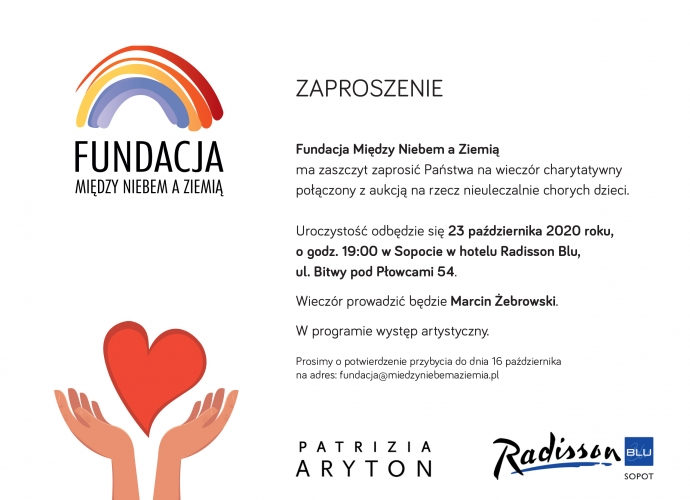 Fundacja Między Niebem a Ziemią - aktualność Aukcje charytatywne
