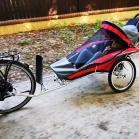 Przyczepka rowerowa dla Wiktorii